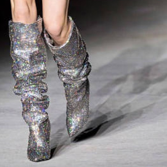 Jeffrey Campbell Shoes - As SEEN on Rihanna Jeffrey Cambel Jeweled Boots